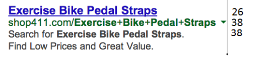 Exercise Bike Pedal Straps